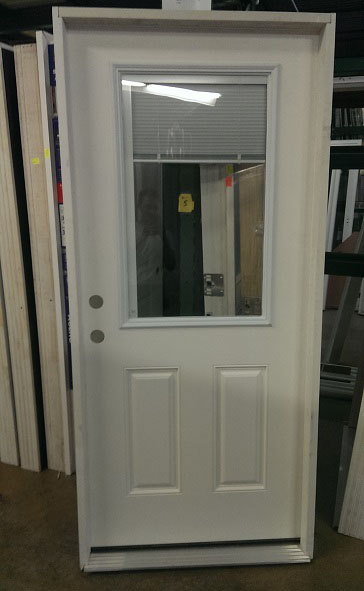 Exterior Mini Blind Mccarren Supply