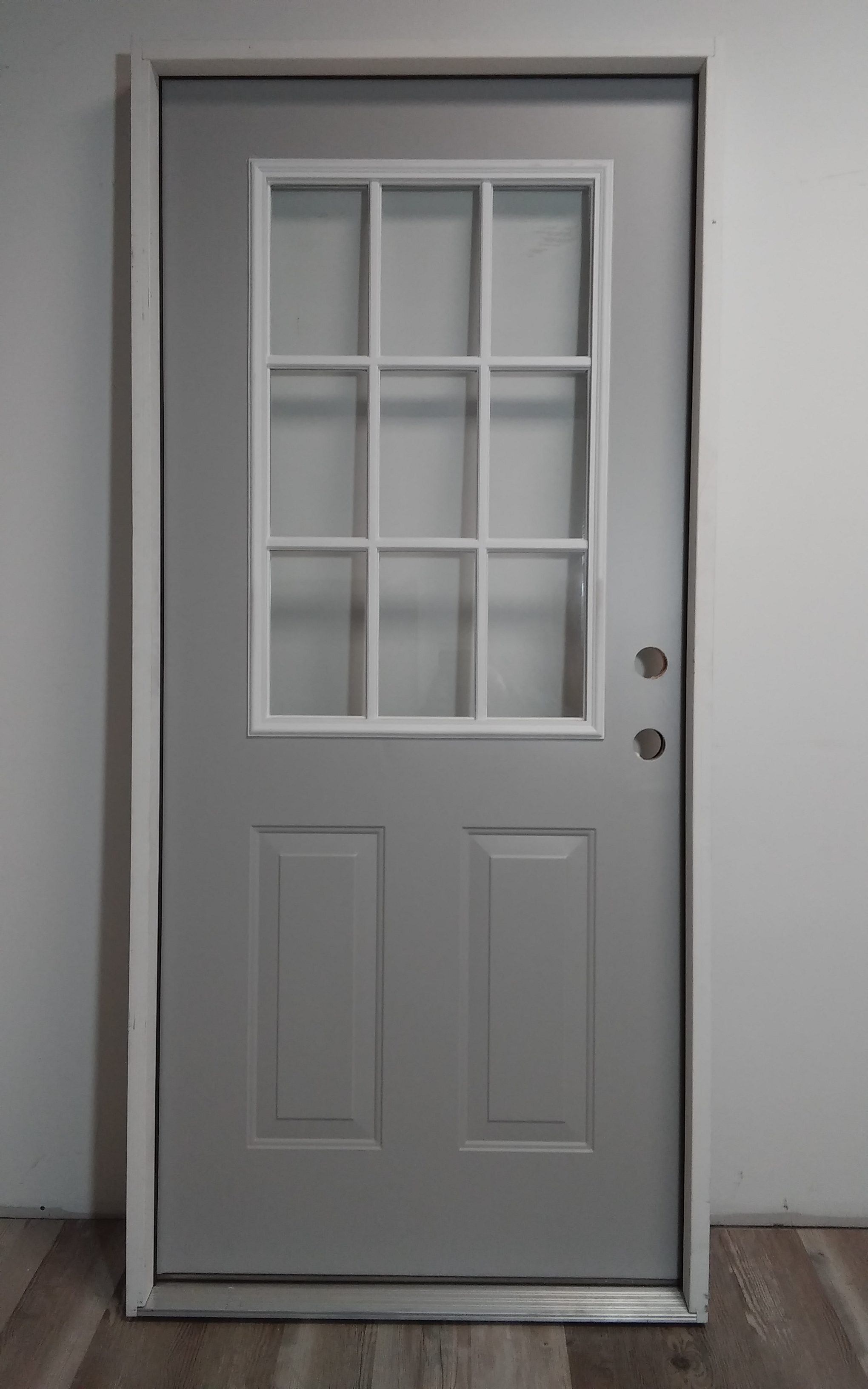 9 Lite Exterior Door Mccarren Supply